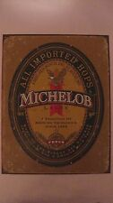 Collectible Tin Sign Michelob Lager Anheuser Bush Brewing Excellence 1896 tin66