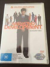 """Arrested Development : Season 2"" (DVD, 2006, 3-Disc Set, PAL 4) *NEW & SEALED*"