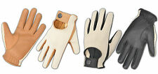 MEN'S MOTORBIKE CAR DRIVING GLOVES GENUINE LEATHER CHAUFFEUR STYLE FASHION