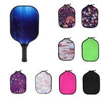 Sports Pickleball Paddle Cover Neoprene Protection Sleeve Case Zipper Bag
