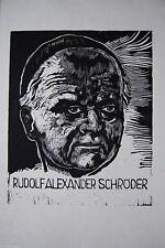 Originaldrucke (1950-1999) mit Porträt- & Persönlichkeiten-Motiv
