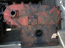 NUFFIELD TRACTOR ENGINE TIMING COVER.