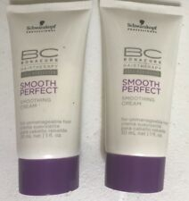 2 schwarzkopf bc bonacure Smooth Perfect 1 Oz Each