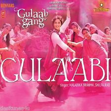 GULAAB GANG - BOLLYWOOD ORIGINAL SOUNDTRACK CD - FREE POST