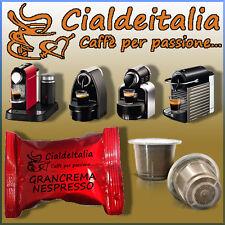 100 capsule CIALDEITALIA  - Gusto GRANCREMA - Compatibili NESPRESSO