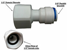 "WATER FILTERS FITTING STRAIGHT REDUCER 1/2"" TO 3/8"""