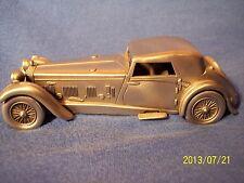 1931 DAIMLER Double-Six Danbury Mint Pewter Model Car Luxury Classic Roadster