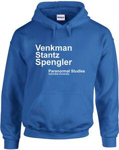 Venkman Stantz Spengler, Ghostbusters inspired Printed Hoodie