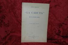 La Caduta Ode di Giuseppe Parini - Giosuè Carducci 1904 Nuova Antologia