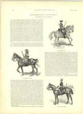 1891 Reasonable Uniform Life Guardsman 1661 Nolan's Ideal J Finnemore