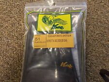 Kane Gun Chaps For Remington 1100, 11-87 & Beretta 302,303 (20ga) Shotgun GC51BL