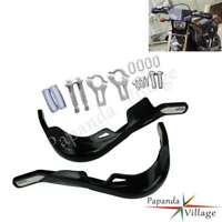 """Dirt Bike Supermoto 7/8"""" Brush Bar Handguard Hand Guard For Honda Kawasaki Black"""