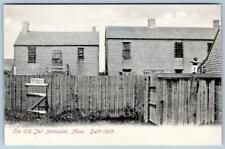 Pre-1907 OLD JAIL BUILT 1805*NANTUCKET MASS*METROPOLITAN NEWS CO BOSTON POSTCARD