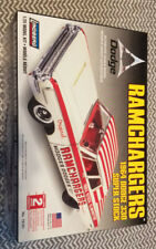 Lindberg Ramchargers 1964 Dodge 330 Ss 1:25 Scale Sealed Complete Open