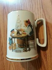 "Authentic Vintage Norman Rockwell Museum ""For A Good Boy� Mug 1985"