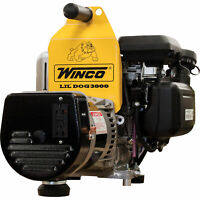 Winco W3000H Portable Industrial Generator 3K Surge/2400 Rated Watts