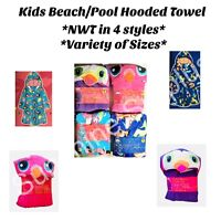 ST EVE Kids Hooded Beach / Pool Cover-Up *Assorted Sizes* FREE SHIPPING