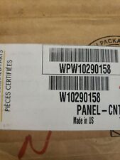 New listing Whirlpool Dishwasher Control Panel Only Wpw10290158 W10290158 New
