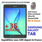 Vitre protection verre trempé film protecteur écran SAMSUNG GALAXY TAB Tablette