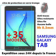 Vitre protection écran film verre trempé SAMSUNG GALAXY TAB A Pro/E/S 2 Tablette