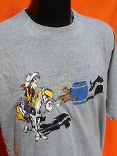 LUCKY LUKE T Shirt Official License Vintage 2000 Cowboy Cartoon BD Western Horse
