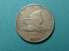 1857 Flying Eagle Penny CHOICE VG* US Coin