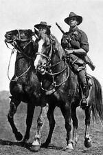 Photo. 1917. New Zealand. Mounted Soldiers - Battle of Beersheba
