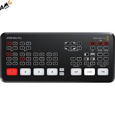 Blackmagic Design Atem Mini Pro Hdmi Live Stream Switcher Swatemminibpr