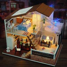 DIY Doll House Wooden Furniture LED One Meter Sunshine Model Child Birthday Gift
