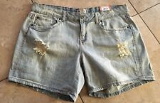 NWT! Mudd Shorts Light Denim Blue Women's Size 17