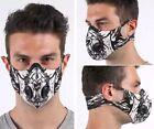 Latest Uniquely Designed Mixed Print Style Gym cycle Sports Unisex Face Mask