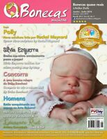 QBonecas Magazine No.5 RebornTutorial Reborn Baby Doll Magazine LifeLike Dolls