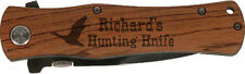 Personalized Engraved Pocket Knife Groomsmen, Wedding Gift, Hunting, Father Day