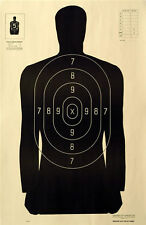 """B27M Special 25 yd Silhouette Reduction from B-27 [23"""" x 35""""] (100 targets)"""