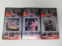 Star Trek The Original & Uncut Television Series VHS Lot of 3 Episodes 4 21 & 22