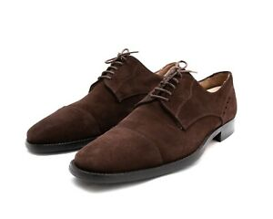 TOD'S $625 Brown Suede Oxfords