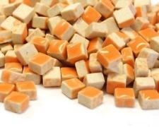 micro céramique vernie tuiles de Mosaïque 5mm - 25g glace à l'eau orange