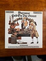 BAROQUE AND ON THE STREET by Guitarist Frederic Hand (vinyl lp, 1981, CBS) EX, N