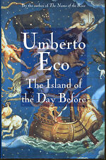 The Island of the Day Before by Umberto Eco-First U.S. Edition/DJ-1995