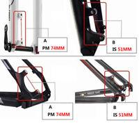 Disc Brake Caliper Mount Adapter Front Rear Post IS 160/180/203mm Aluminum Alloy
