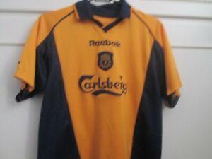 "Liverpool 2000-2001 Away Football Shirt Size 30-32""  /9132"