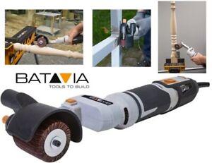 BATAVIA Electric Burnishing Drawing Machine Burnisher Drum Sander Polisher +more