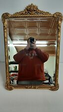 """Vintage Hickory Manor House Bevelled Gold Wall Mirror 21x33"""""""