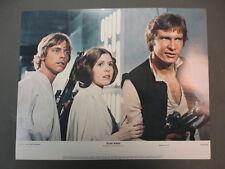 STAR WARS 8 color 11x14 stills '77 George Lucas classic sci-fi. NSS 770021,MINT