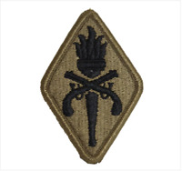 GENUINE U.S. ARMY PATCH: MILITARY POLICE SCHOOL - EMBROIDERED ON OCP
