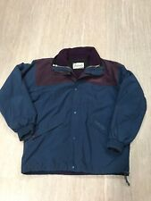 Camperland Mens Vintage Snow Ski Jacket Color Block Blue Fleece Lined Gor-tex 90