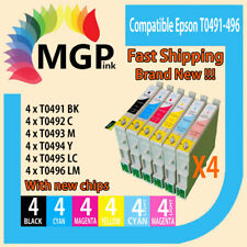 24xGeneric ink Cartridges For Epson  Printer R210 R230 R310 R350 RX510 RX630