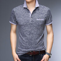 Men Polos Business Office Polo Shirt Brand Mens Polo Shirts Mens Clothing