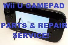 AS IS Broken Nintendo Wii U Gamepad Controller Parts and Repair Service!