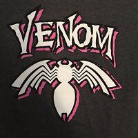 Marvel Venom Spider-Man Graphic T-Shirt Top Boys Girls Size L Short Sleeves New